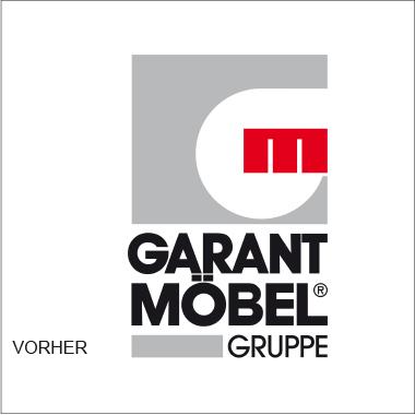 Garant Gruppe Logo Vorher