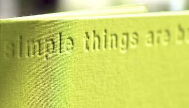 Simple Things Are Beautiful ASA Kataloge
