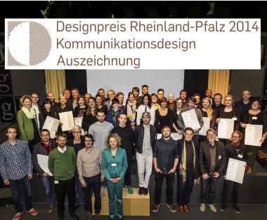 Designpreis Rheinland-Pfalz 2014 Gruppenfoto Auszeichnung