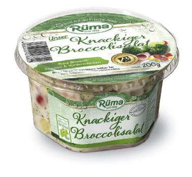 Rüma Feinkost Knackiger Broccolisalat Packshot