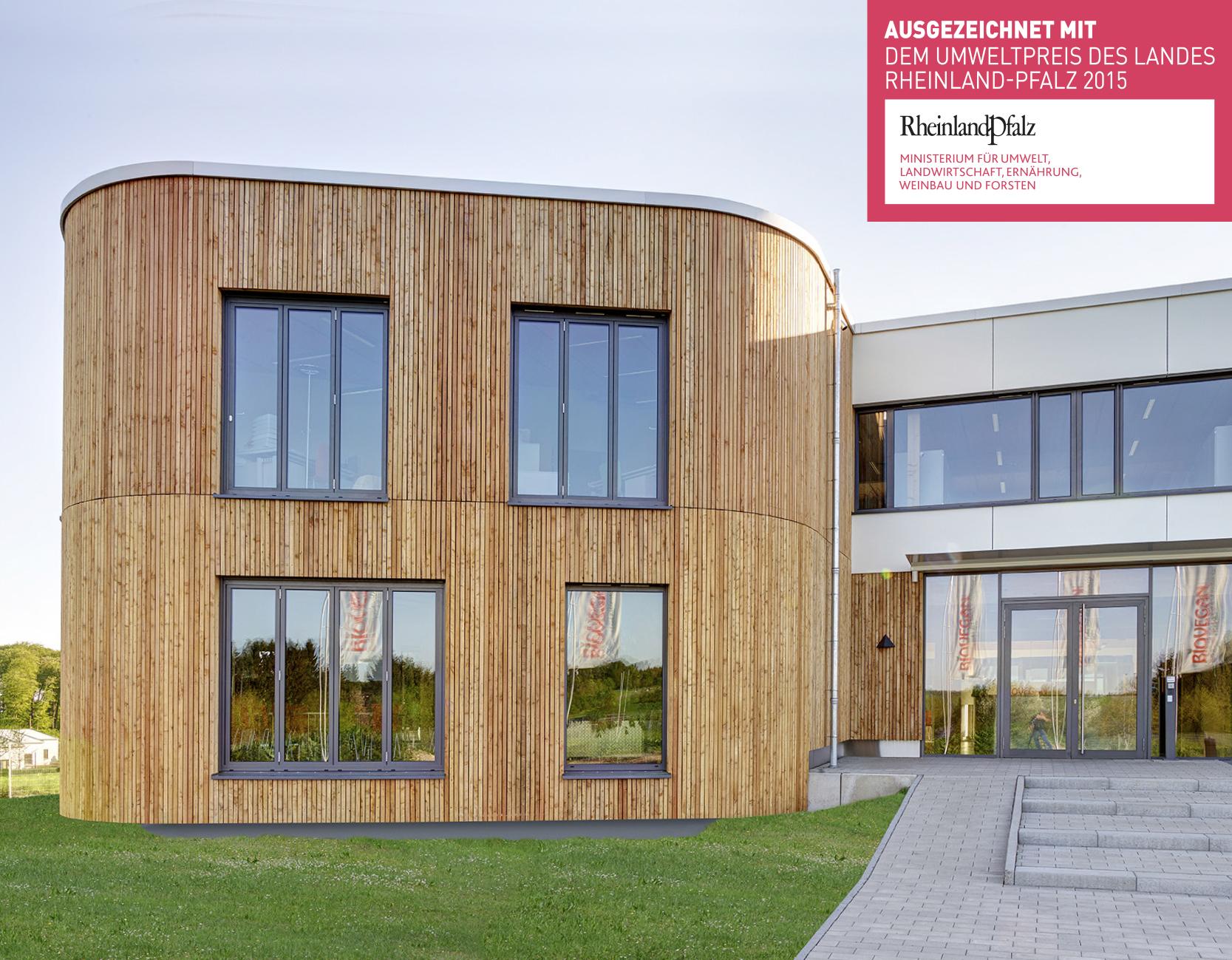 Biovegan Umweltpreis Rheinland-Pfalz