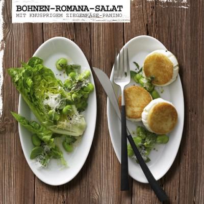 Rezept-Bohnen-Romana-Salat