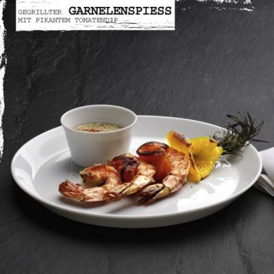 Rezept-Gegrillter-Garnelenspiess