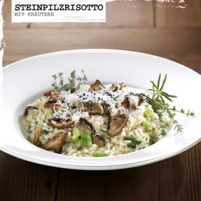 Rezept-Steinpilzrisotto