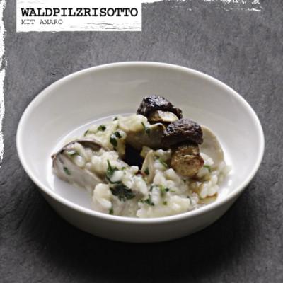 Rezept-Waldpilzrisotto