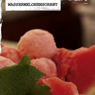 Rezept-Wassermelonensorbet