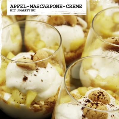 Apfel-Mascarpone