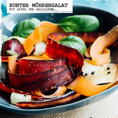Bunter-Moehrensalat