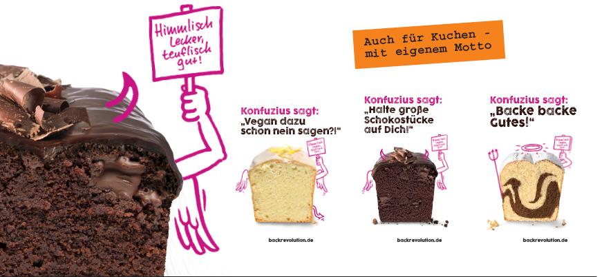 Biovegan Backrevolution – Kuchen Backmischungen